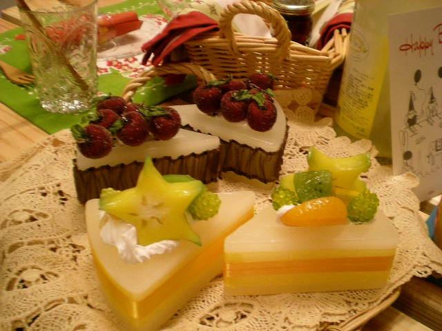フェイクケーキ製作