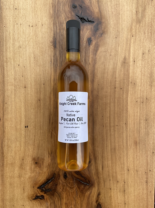 25oz Native Pecan Oil
