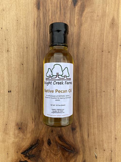 12 oz Native Pecan Oil