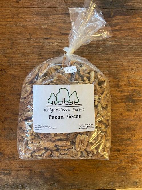 2.5 lbs Pecan Pieces