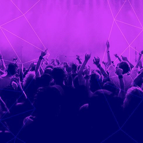 fialová Crowd