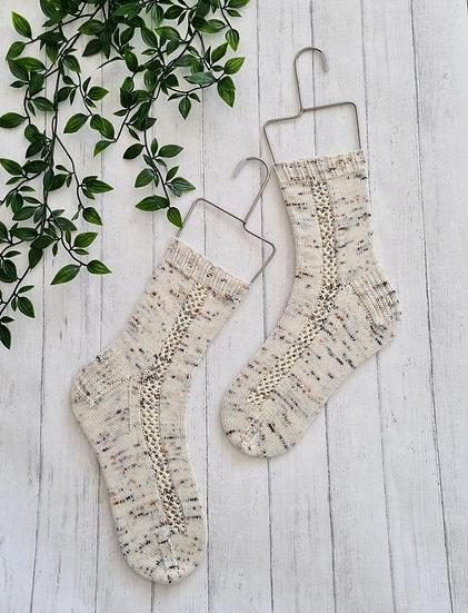 Walk the Tracks Socks Pattern