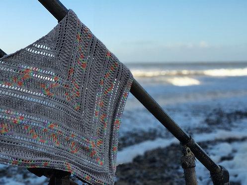 Silver Echos Shawl Crochet Pattern