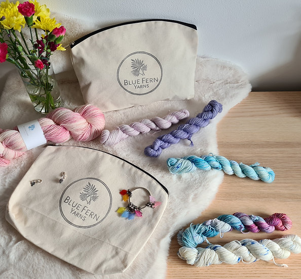 Blue Fern Yarns Project Bag