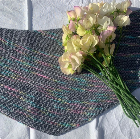Shawl in Unicorn in the Clouds