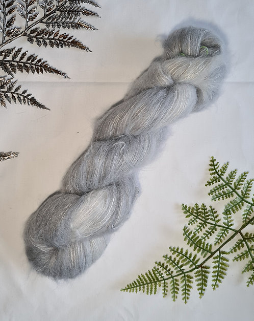 Concrete Lace Fluff Yarn