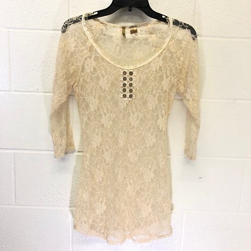 BKE lace shirt