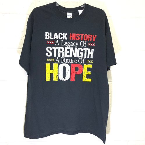 Black Strength tee NWT