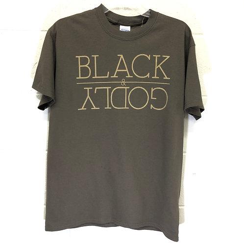 Black & Godly tee NWT
