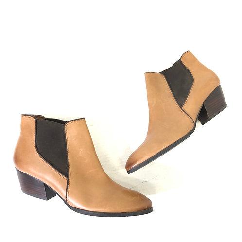 Franco Sarto brown booties
