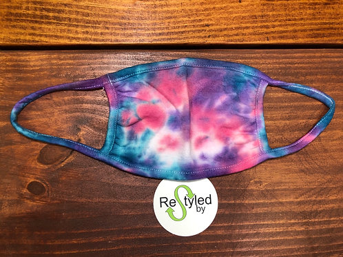 Hand Dyed Face Mask