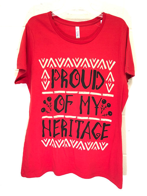Proud Heritage tee NWT