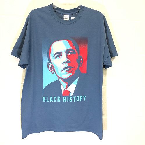 Obama History tee NWT