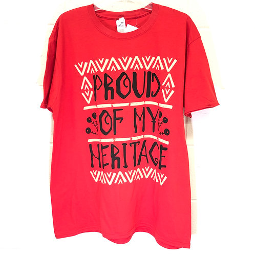Proud Heritage tee Size XL NWT