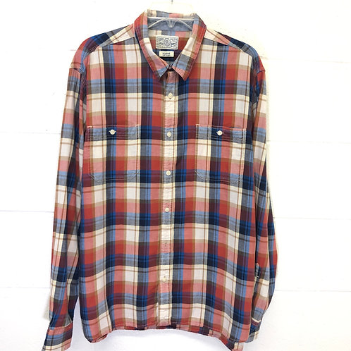 The Lucky Brand plaid button up