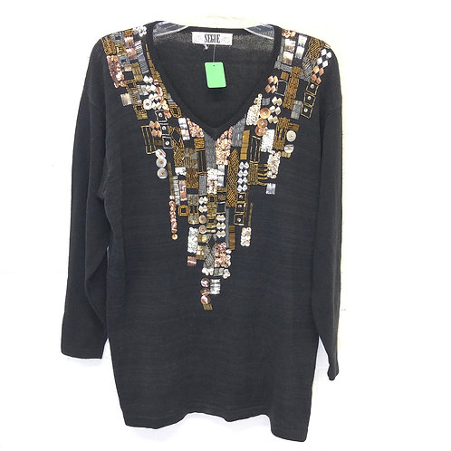 Segue vintage beaded sweater