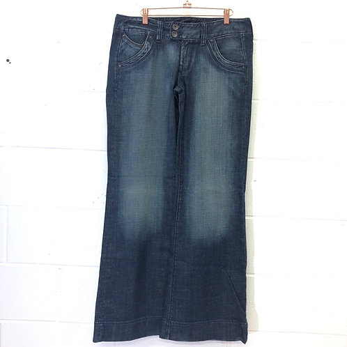 Express X2 wide leg jeans