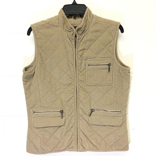 Eddie Bauer corduroy vest Size M