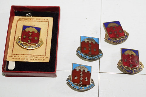 Set Of 5 Military Pins