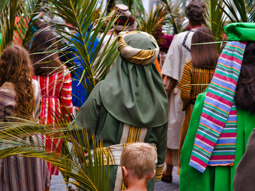Humility and Palm Sunday