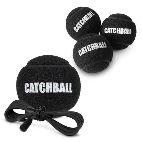 Set (Catchball, Black Juggling Balls)