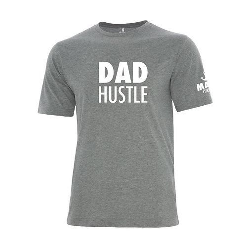 DAD HUSTLE T-SHIRT - GREY