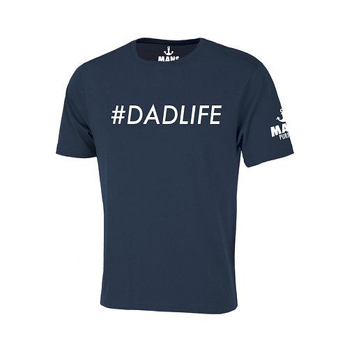 #DADLIFE T-SHIRT - NAVY BLUE