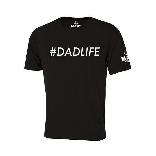 #DADLIFE T-SHIRT - BLACK