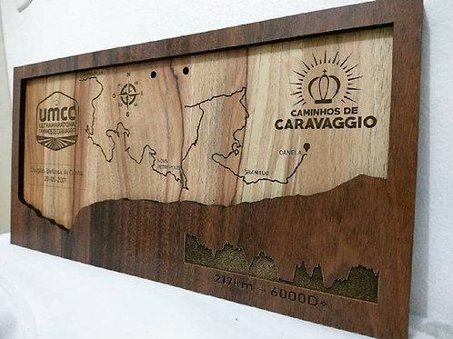 Porta Medalha - Ultra Maratona Caminhos de Caravaggio