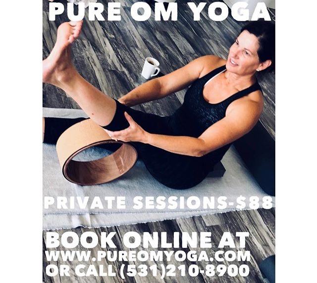 Check out PURE OM YOGAs private sessions