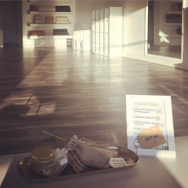 Rise & Shine Yogis! Come check out our N