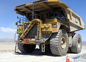 Mining truck scales