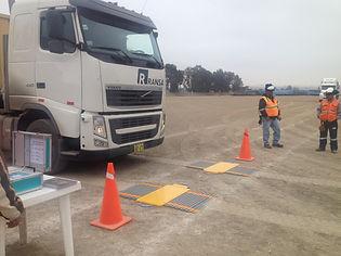 balanza para camiones portatil