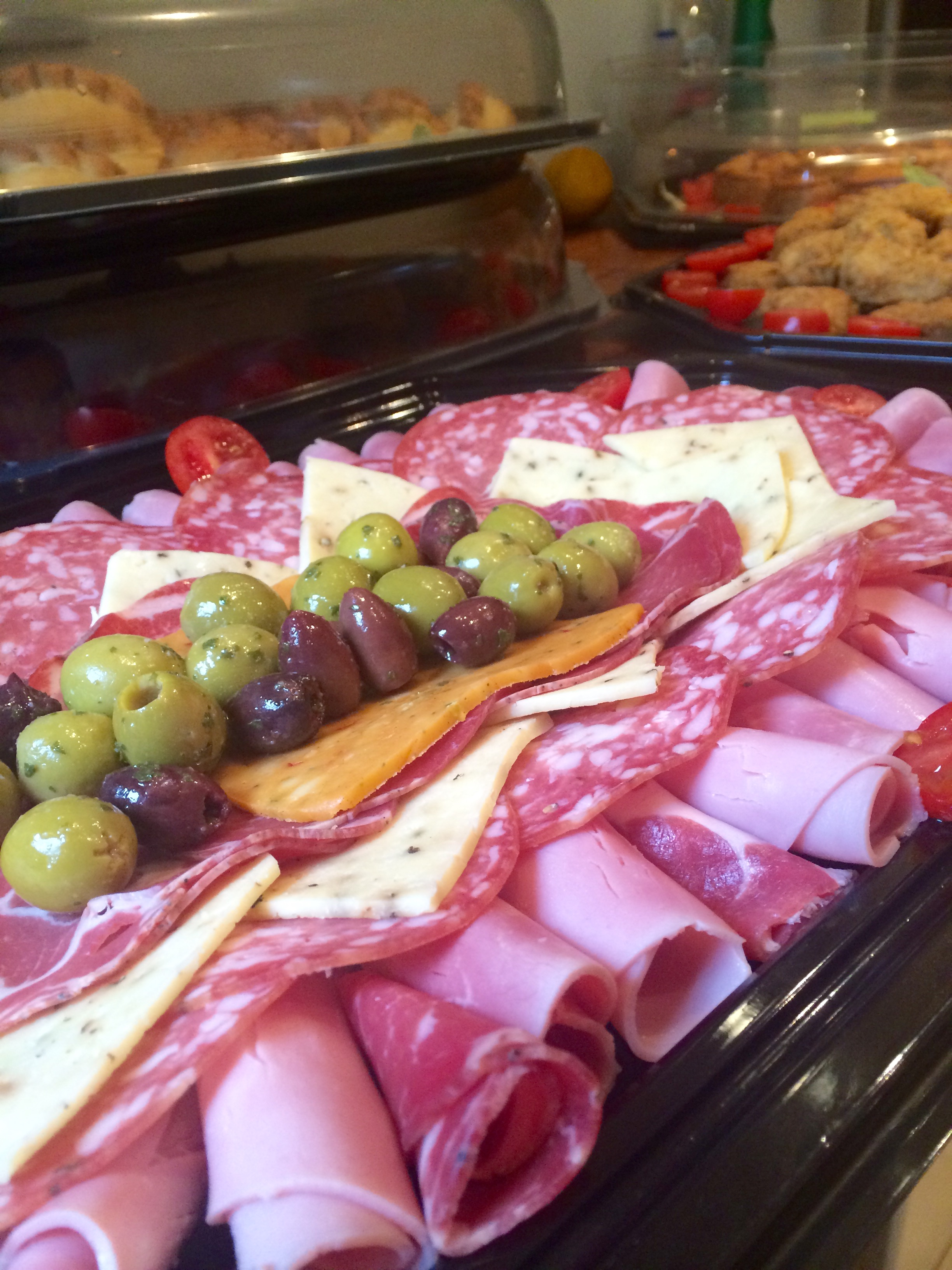 Cobblers Meat Platter with Cheese and G