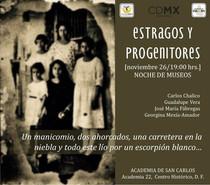 """1a presentación de """"Estragos y progenitores"""""""
