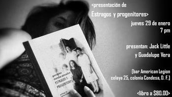 """2a presentación de """"Estragos y progenitores"""""""