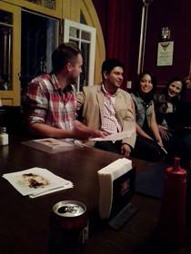 """Guadalupe Vera, Carlos Chalico y Jack Little presentan """"Estragos y progenitores"""""""
