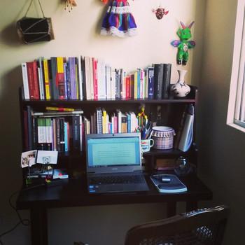 #NowWriting: mi nuevo escritorio