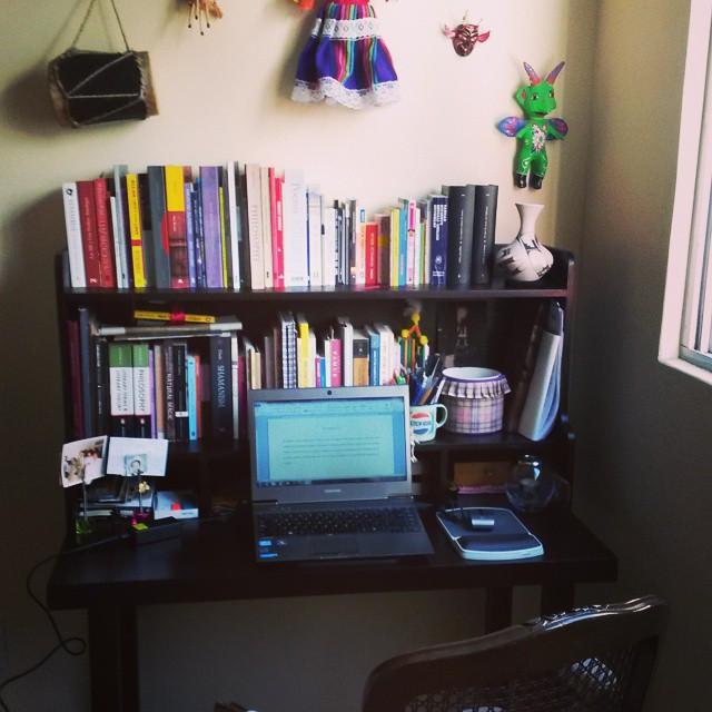 Instagram - #nowwriting Estrenando mi nuevo centro de trabajo con la escritura d