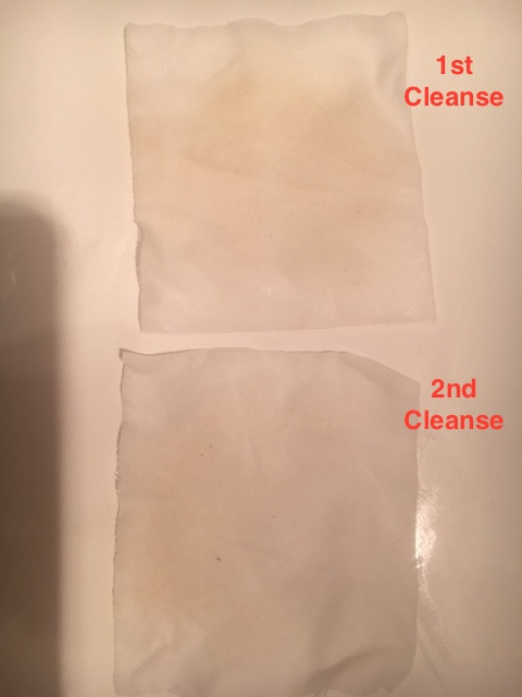 Reverse Cleansing Method