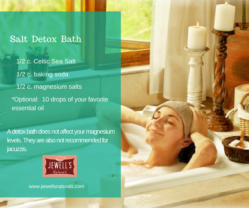 Salt Detox Bath Recipe