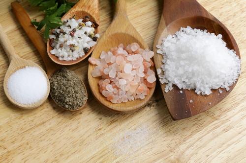 Types of natural salt