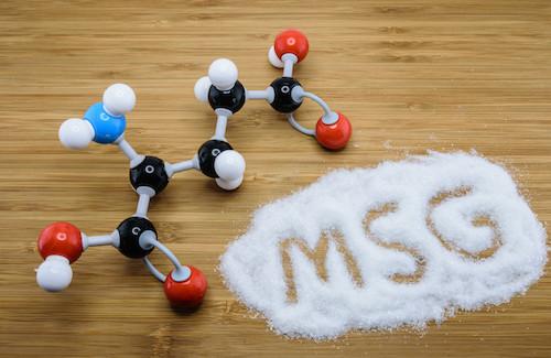 MSG Molecular Structure