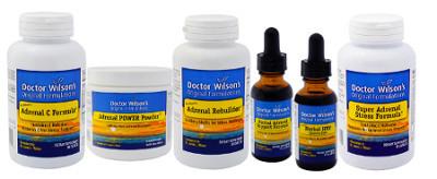 Dr. Wilson's Adrenal Fatigue Supplements