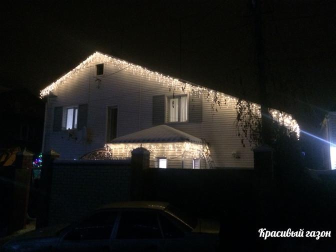Декоративное освещение частных домов