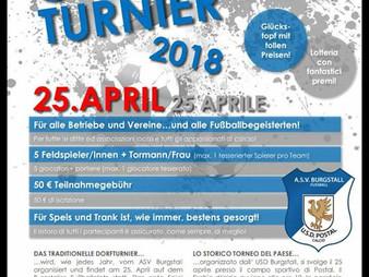 Gauditurnier 2018