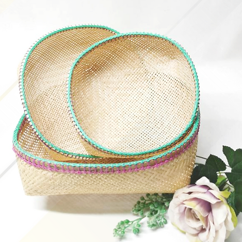 Basket set of 3pcs (Green)