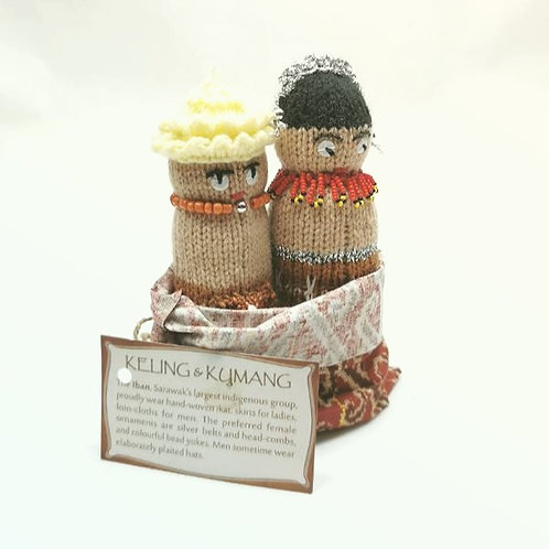 Knitted Doll Iban