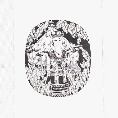 Art print - Bidayuh