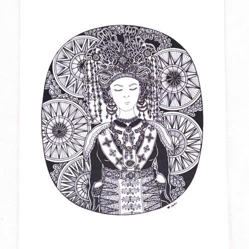 Art print - Melanau Bride*
